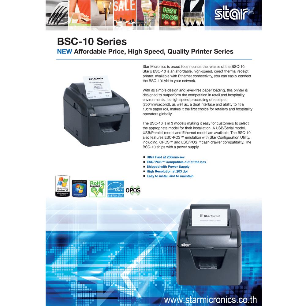 BSC10 Product Sheet Starmicronics