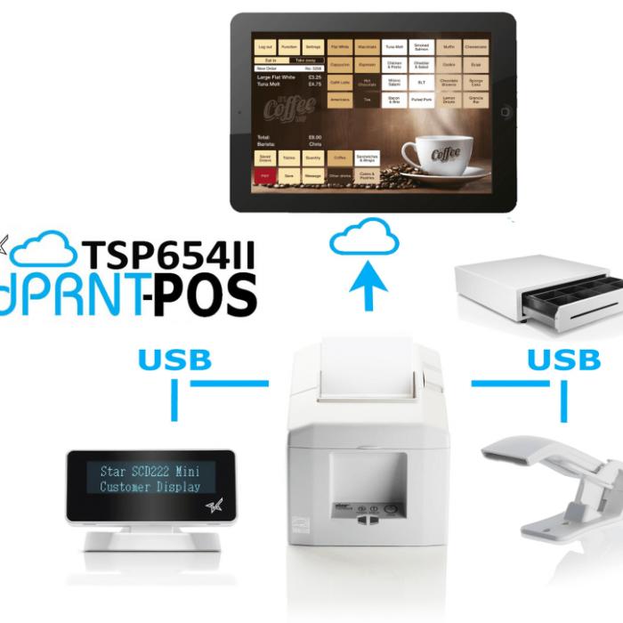 CloudPRNT-POS Starmicronics