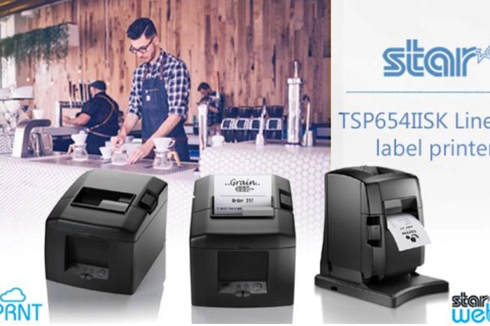 สตาร์ไมโครนิคส์ เปิดตัวเป็นเครื่องพิมพ์ฉลาก TSP654IISK  แบบ Liner-Free พร้อม Taken เซ็นเซอร์